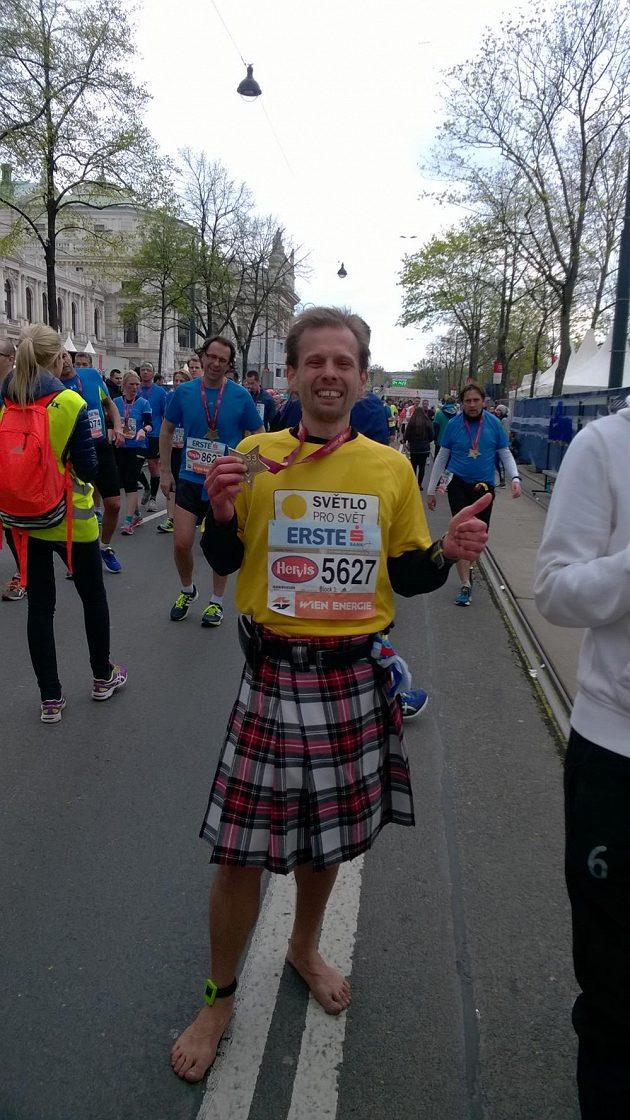 Vienna City Marathon: V cíli jsou všichni princezny se zlatou hvězdou na krku.