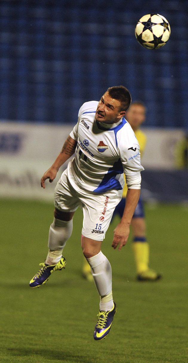Ostravský útočník Antonín Fantiš v utkání 15. kola Gambrinus ligy s Teplicemi.
