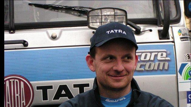 Tomáš Tomeček pojede Rallye Dakar pojedenácté.
