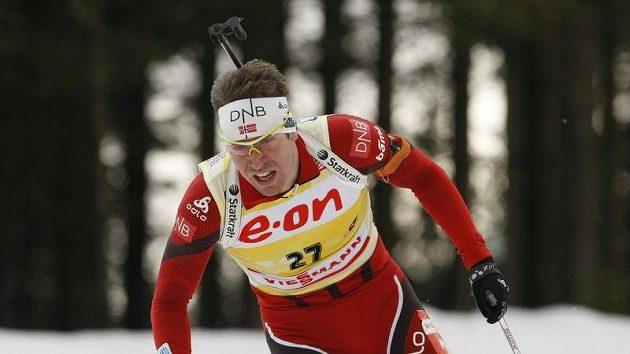Norský biatlonista Emil Hegle Svendsen