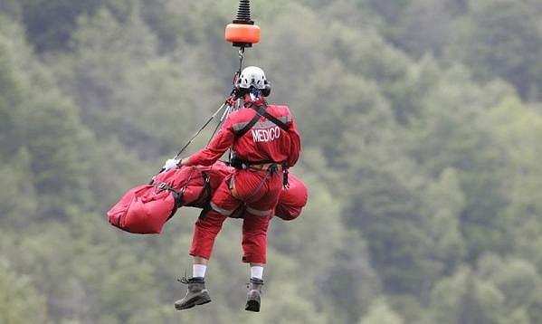Pedro Horrillo v roce 2009 prožil těžké chvíle na Giro de Italia. Zachraňovat ho musel i vrtulník.