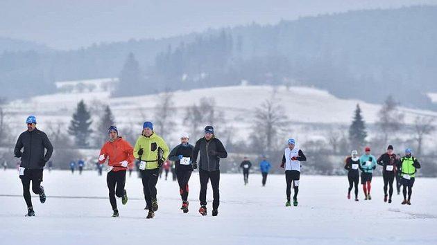 Lipno Ice Marathon - na ledu vládla skvělá atmosféra.