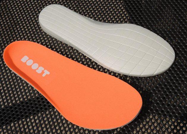 Běžecké boty Adidas Solar Boost - detail vložek.
