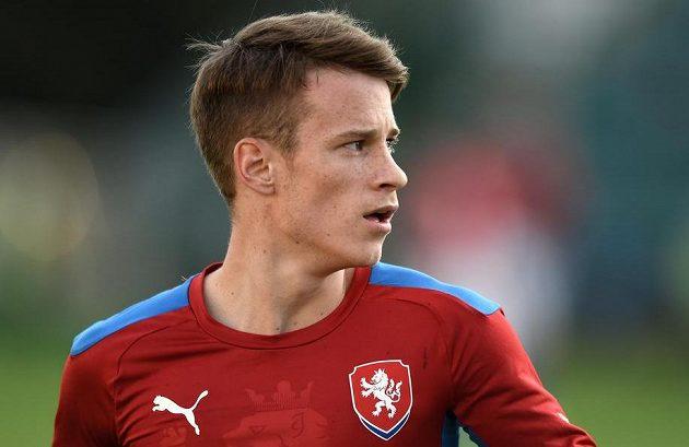 Jan Sýkora během přátelského utkání s Itálií.