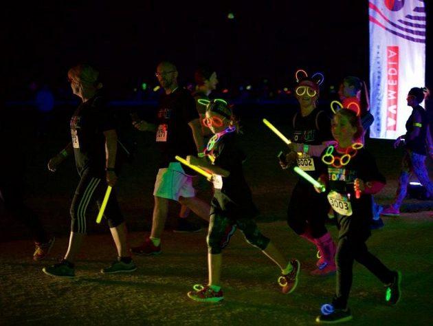 Běhu se zúčastnili aktivní sportovci i rodiny s dětmi.