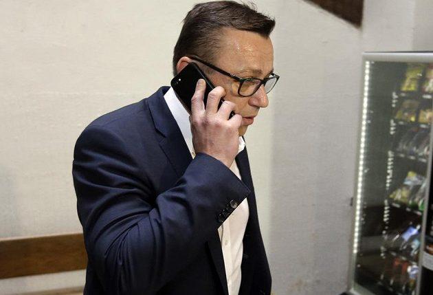 Advokát Miroslava Pelty Bronislav Šerák.