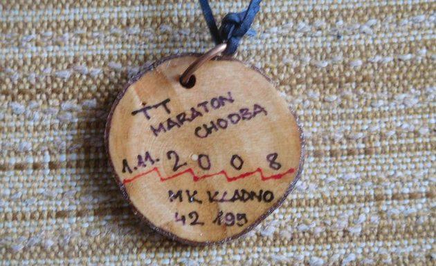 "Evženova medaile za ""chodbatlon""."