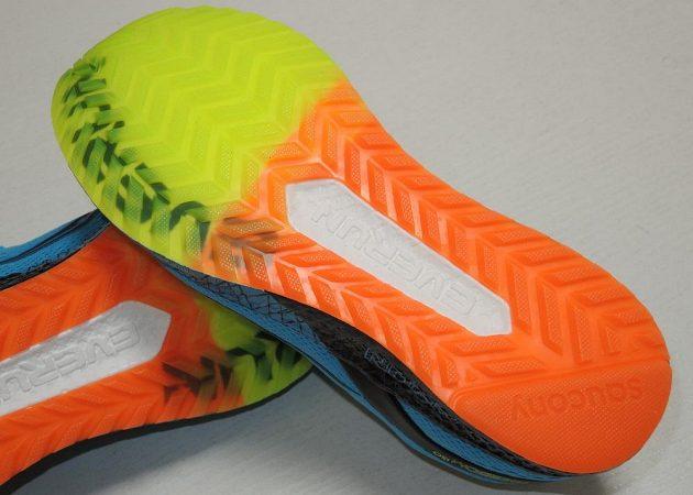 Běžecké boty Saucony Freedom ISO: Podrážka je vážně k sežrání.