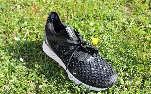 Běžecké boty Puma Ignite Netfit: pohled na oblast nártu.