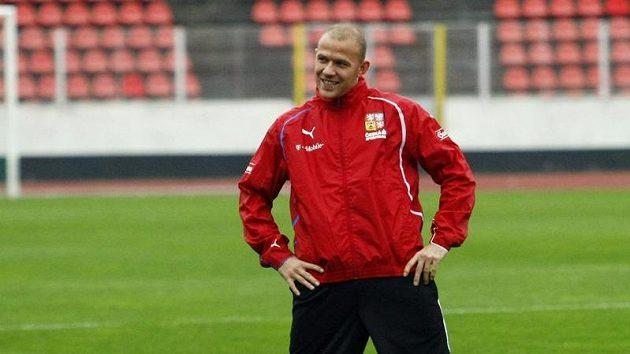 Roman Bednář na srazu české fotbalové reprezentace