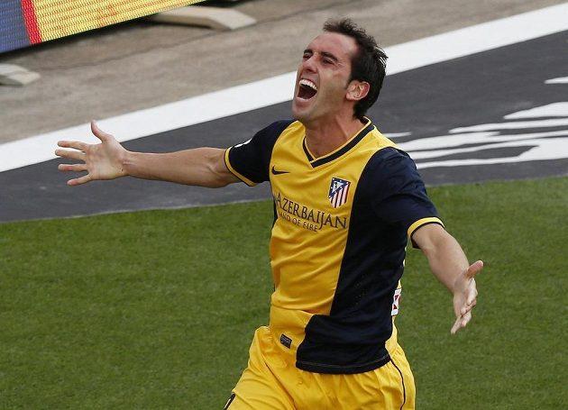 Diego Godín právě trefil Atlétiku v Barceloně titul...