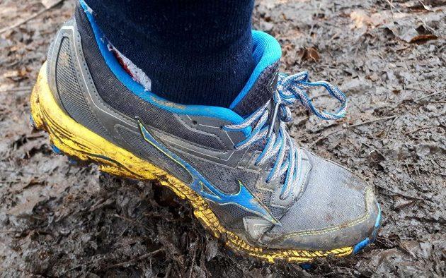Běžecké krosové boty Mizuno Wave Daichi 2 - nepřátel se nelekejte a na  bahno nehleďte. 8151699c4a