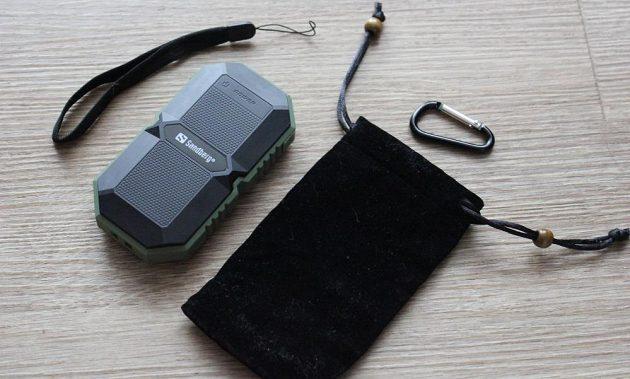 Odolná powerbanka Sandberg Waterproof Powerbank 6000 - s bohatou výbavou.