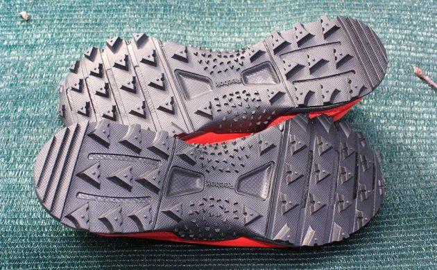 Trailové boty Reebok All Terrain Craze - podrážky dávají tušit jejich pravou náturu.
