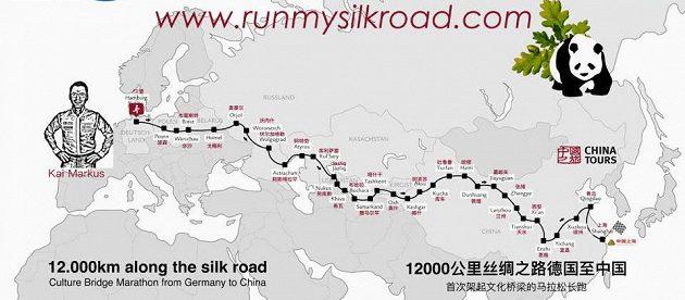 Kai Markus poběží z Hamburku až do Šanghaje.