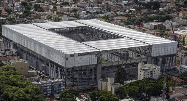 Arena da Baixada v městě Curitiba je nejmenším stadiónem pro MS.