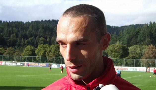 Pavel Krmaš na snímku z dob, kdy hrál ve Freiburgu.