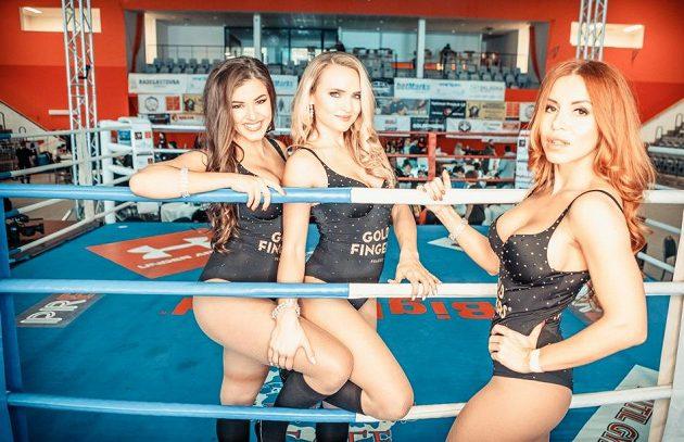 Denisa Gudelj a její parťačky ve světě bojových sportů.