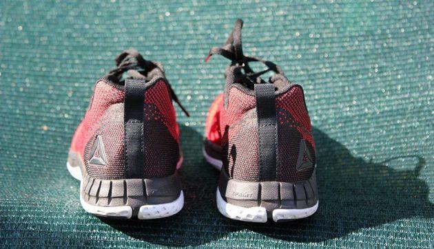 Běžecké boty Reebok Print Run Prime Ultraknit - pohled zezadu.