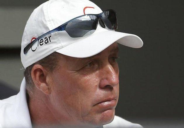 Ivan Lendl většinou sleduje zápasy Andyho Murrayho z lóže s výrazem hráče pokeru.