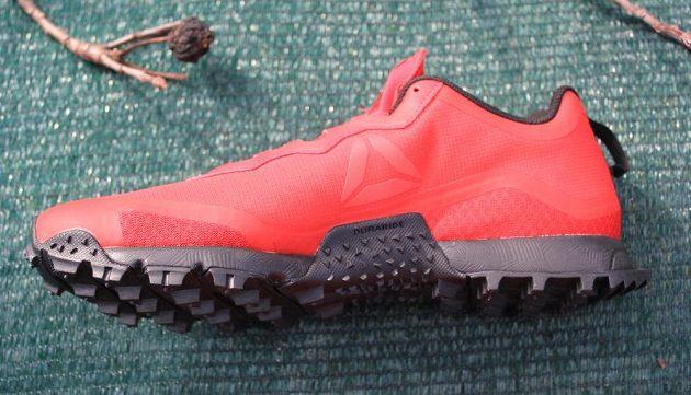 Trailové boty Reebok All Terrain Craze - z vnitřní strany.