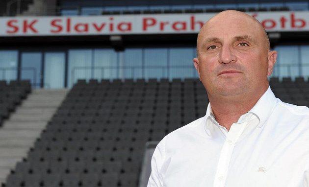 Nový generální ředitel fotbalové Slavie Jaromír Šeterle.