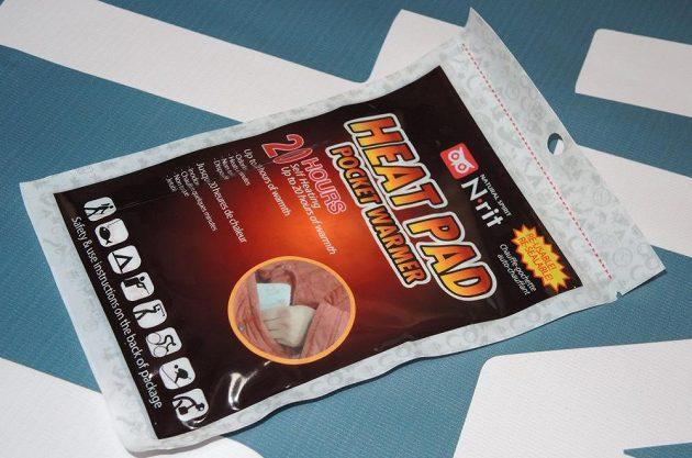 """N-rit Heat Pad: Ohřevný polštářek vydrží až 20 hodin a lze jej """"uhasit"""" a znovu nastartovat."""