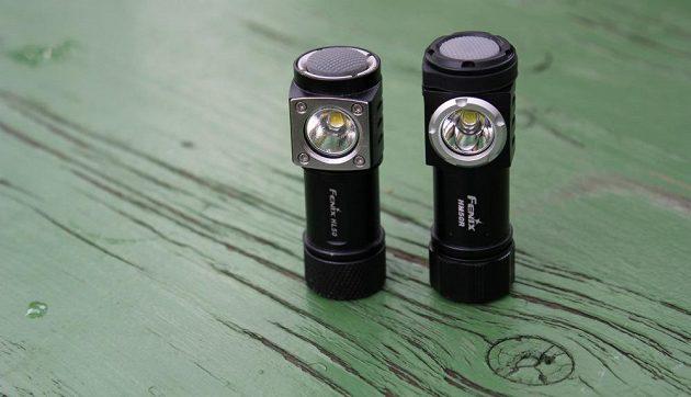 Svítilna Fenix HM50R a HL50 - dvě malé a odolné sestry.