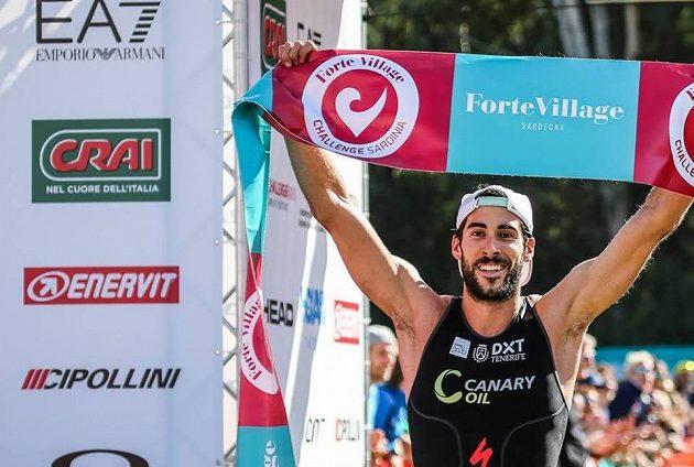 Vítězný Španěl Vicente Hernandez.