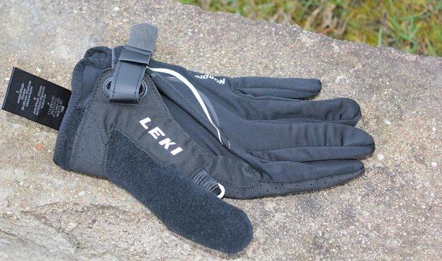 Skládací běžecké hole Leki Micro Trail Pro – rukavice Nordic Lite Shark  Long. c8aa546667