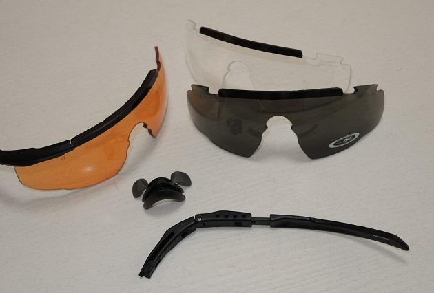 Brýle Wiley X Saber Advanced: Když nacvičíte výměnu, je to otázka několika vteřin.