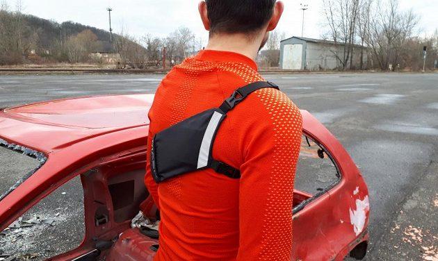 Běžecké pouzdro Binder Jogger od Mask Gear: Zadní díl je identický, jen zrcadlově převrácený.