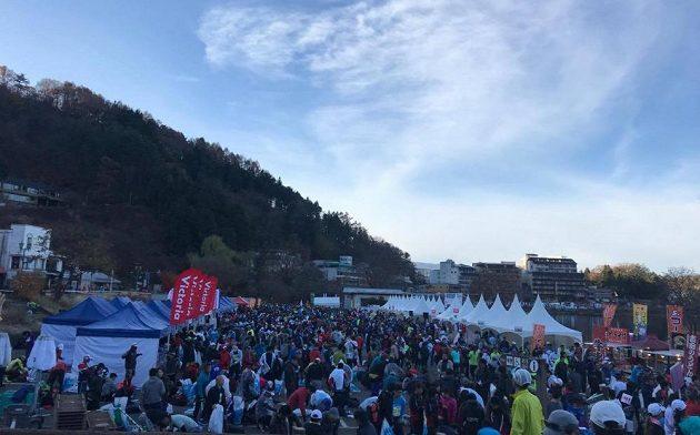 Fujisan Marathon - i přes všechny ekideny je i tento maraton oblíbený.