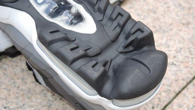 Boty Nike Air Max 95 - podrážka paty nese agresivnější prvky.