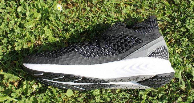 Běžecké boty Puma Ignite Netfit: pohled z vnitřní strany.