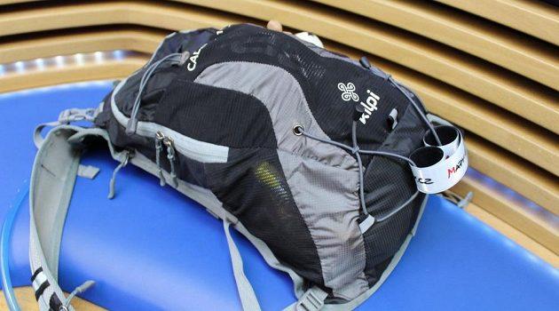 Běžecký batůžek Kilpi Cadence 10L: celkový pohled.