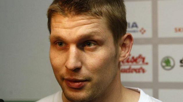 Petr Vrána na srazu hokejové reprezentace