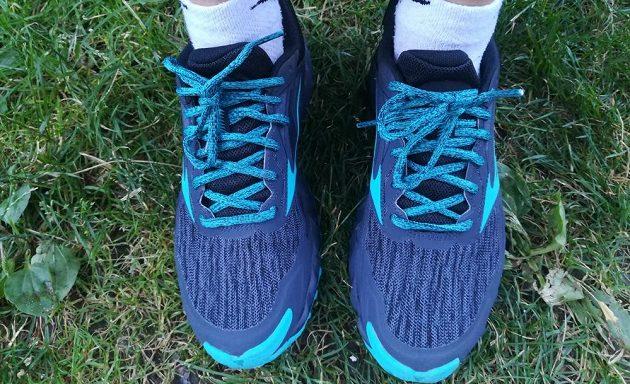 Trailové běžecké boty Mizuno Wave Ibuki v celé parádě.