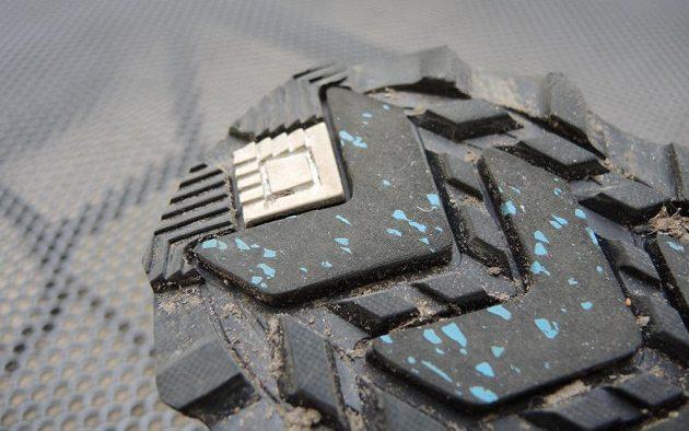Běžecké boty Saucony Peregrine 7 Arctic - indikační čtvereček.