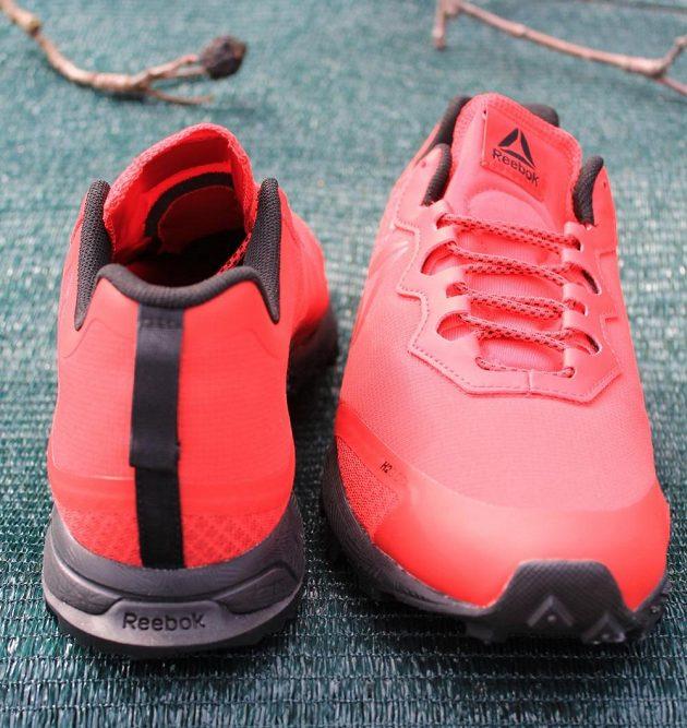 Trailové boty Reebok All Terrain Craze - předo-zadní pohled.