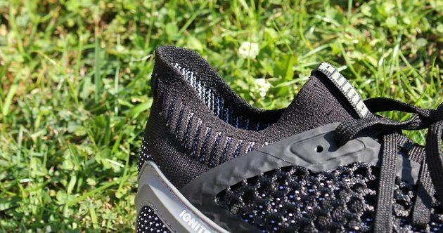 Běžecké boty Puma Ignite Netfit: detail horního okraje knitu.