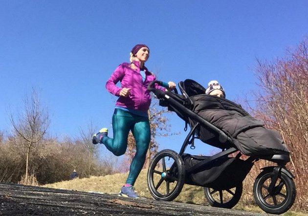 Anna Štumpf - pohybu se nebojí ani v těhotenství.
