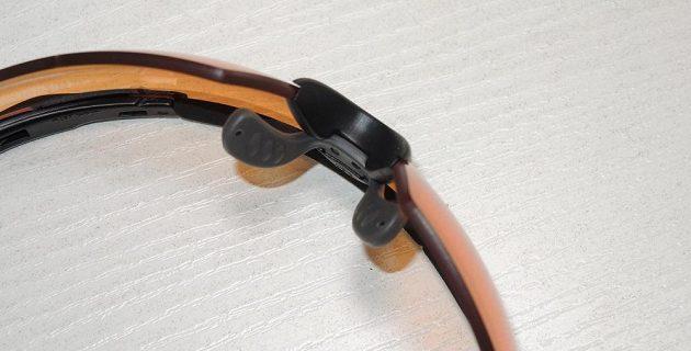 Brýle Wiley X Saber Advanced: snadno upravitelný nosník.