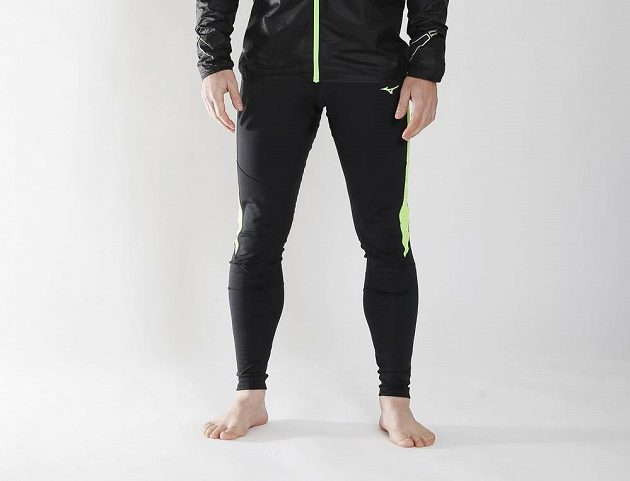 Běžecké legíny Mizuno Breath Thermo Tights: jednoduchá elegance