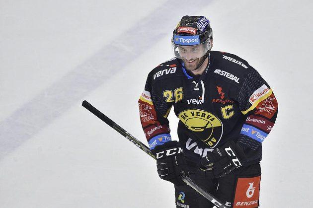 Střelec gólu Viktor Hübl z Litvínova.