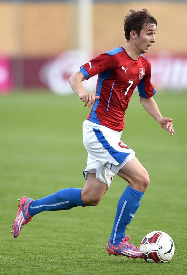 David Houska během přátelského utkání s Itálií.