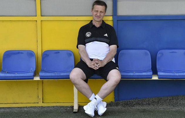 Nový trenér fotbalového klubu FC Fastav Zlín Josef Csaplár.