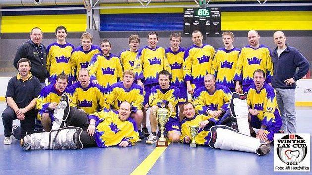 TJ Malešice, vítěz boxlakrosového turnaje Winter Lax Cup 2012