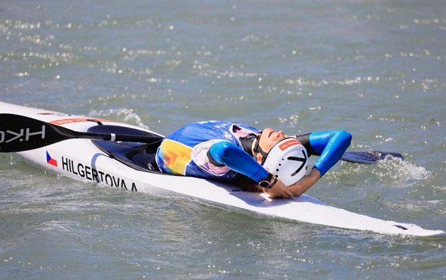 Jednadvacetiletá kajakářka Amálie Hilgertová ve svém prvním velkém seniorském finále dokázala pro Česko vybojovat titul mistryně Evropy ve vodním slalomu.