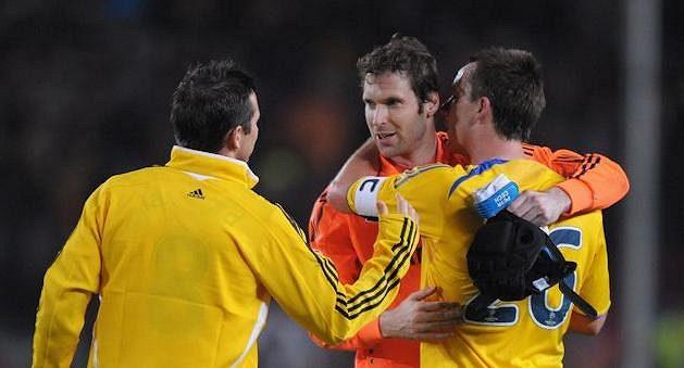 Husarský kousek, bezbranková plichta na Nou Campu v semifinále Ligy mistrů 2008/09. Dál ale nakonec šla Barca.